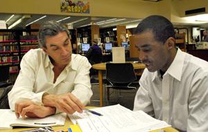 Charles Fort tutoring Harvey Robinson