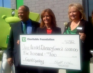 Post image for AACLC Receives $5,000 grant from TD Charitable Foundation