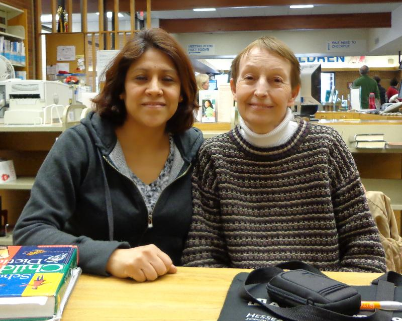 Post image for SPOTLIGHT: Student Bertha Garcia And Tutor Annette Graves