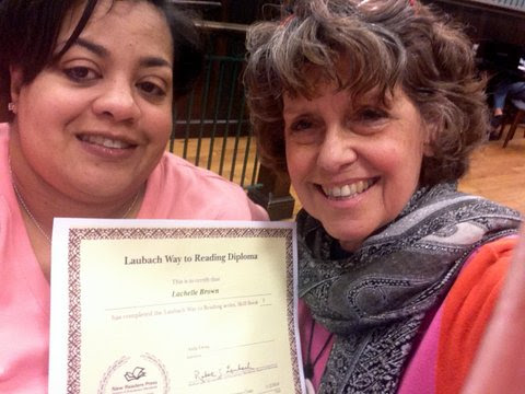 Post image for Tutor Spotlight:  Anita Ewing and her student Lachelle