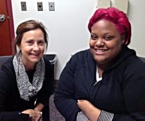 Student Success: Dillyn Fitzgerald with literacy tutor Lisa Peelish