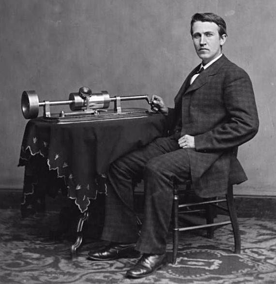Post image for Thomas Edison's Success/Failure Ratio