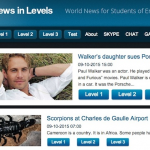 Thumbnail image for Tutor Tip: News Stories On Different Reading Levels