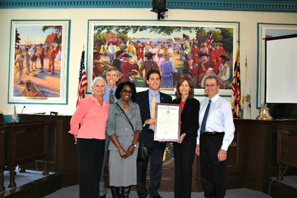 Post image for Mayor of Annapolis Presents Proclamation