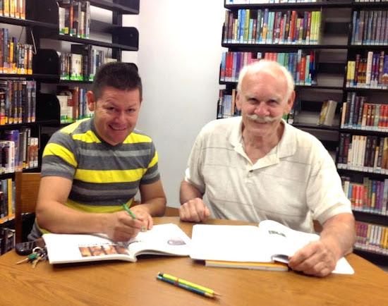 Post image for Spotlight on Student Juan and Tutor Harry Delong