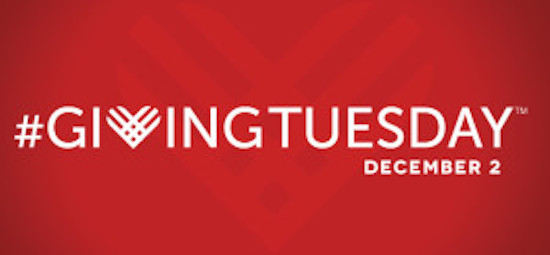 Post image for Giving Tuesday: Donations Doubled Dec. 2, 2014 !