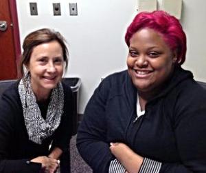 Student Success: Dillyn Fitzgerald with literacy tutor Lisa Peelish