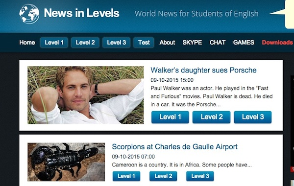 Post image for Tutor Tip: News Stories On Different Reading Levels