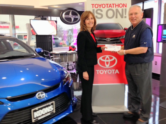 Post image for Koons Annapolis Toyota Gives $5,000 to AACLC on #GivingTuesday!