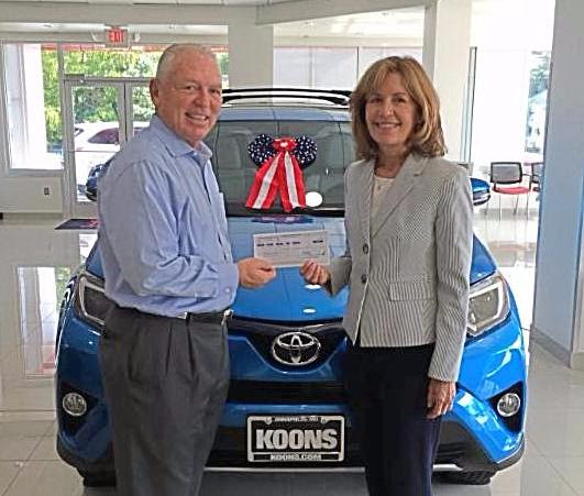 Post image for Annapolis Koons Toyota Sponsors Walk-A-Thon!