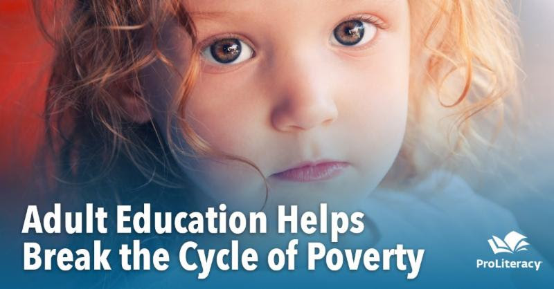 adult education breaks the cycle of poverty