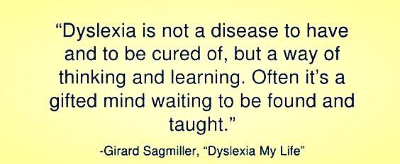 Post image for Food For Thought: Dyslexia