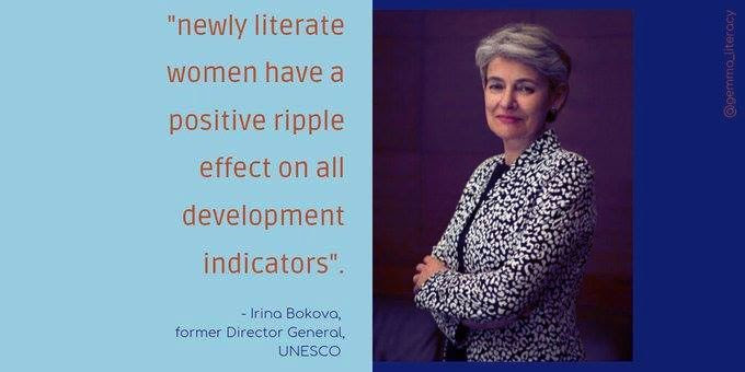 Post image for Literate Women Change The World
