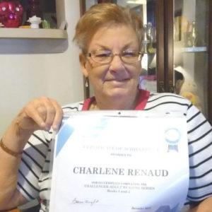 Charlene Renaud, AACLC student