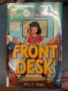 """photo of the book """"Front Desk"""""""