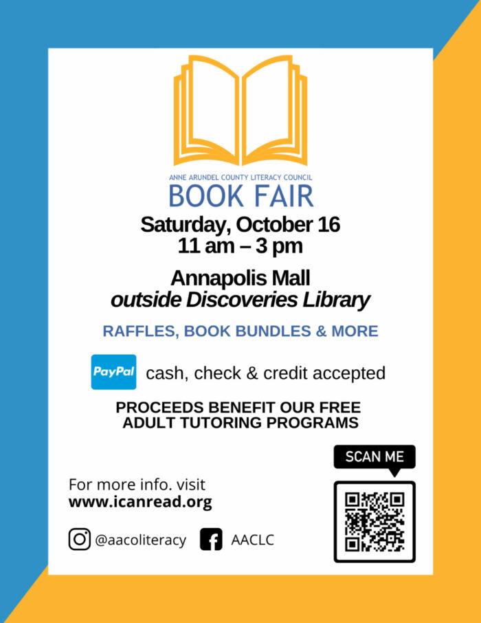 Book Fair 2021 Flyer