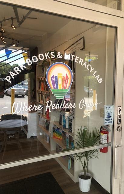 Pak Books & Literacy Lab door